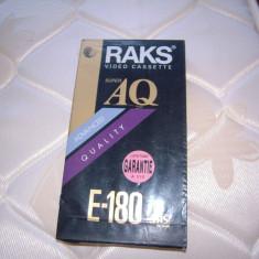 Caseta video VHS RAKS Super AQ, 180 minute