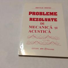Anatolie Hristev - Mecanica si acustica-RF15/1