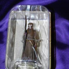 Figurina de colectie Elven Warrior luptator elf  seria The Hobbit Eaglemoss. nou
