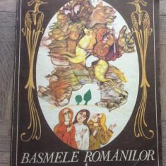 BASMELE ROMANILOR  Vol 1 - Sabina Cornelia Stroescu - Ilustratii Done Stan, 1984