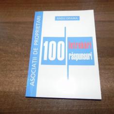 Radu Opaina - 100 intrebari si raspunsuri despre Asociatia de Proprietari