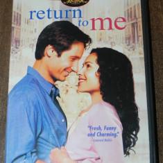 Dvd - Return to Me - David Duchovny Minnie Drive,  2000  original USA, Franceza