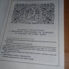 carte veche ortodoxa,ACATISTIER,Prea Sfintitul IUSTINIAN,Episcop MARAMURESULUI