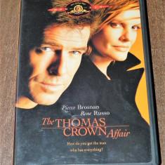 Dvd - The Thomas Crown Affair - Pierce Brosnan Rene Russo original USA, Franceza