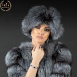 Caciula Husky - Gri Spicat