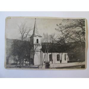 Rara! Carte postala foto biserica din Nades judetul Mures anii 30