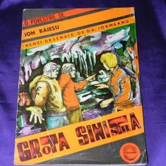 Grota sinistra - benzi desenate - D D Iormeana - dupa o povestire de Ion Baiesu