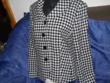 GERRY WEBER, Taior vintage, dama, deosebit, Alb, Lana, 46
