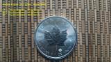 Monede / Lingou Argint PUR 999, INVESTITIE, cu factura, Canada Frunza