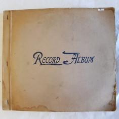 ALBUM DE DISCURI ,PLACI DE PATEFON, DE BACHELITA -MUZICA SIMFONICA - anii 1930