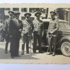 Fotografie originala 100 x 70 mm cu ofiteri romani de politie din anii 30