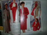 Revista/Catalog moda femei-barbati-copii,mobila,desing, BAUR  1985,T.GRATUIT