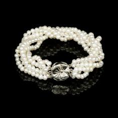 Bratara Argint 925 cu Perle Naturale Anemona