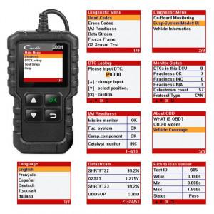 Tester Diagnoza Auto Orice Masina LAUNCH X431 Creader 3001 NOU SIGILAT Garantie