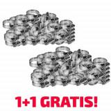 Coliere fixare RoGroup otel zincat 58 inch 50 bucset 11 Gratuit!