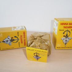 Vopsea naturala Sahara Tazarine Henna, noua!