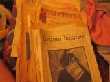 Ziare vechi amestecate si descompletate interbelice peste 100 pagini