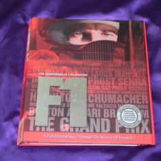Formula 1 = The Memorabilia Collection - de colectie -album, carti postale, ziar