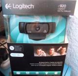 Webcam Logitech c920 HD Pro, nouă, sigilată, Peste 2.4 Mpx, Microfon