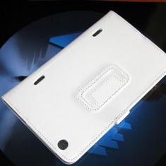 Husa Asus Fonepad 7 ME372CG Alba din piele Eco   TAB190