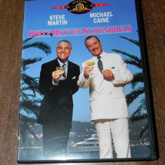 Dvd comedie Dirty Rotten Scoundrels - Steve Martin, Michael Caine original SUA, Franceza, universal pictures