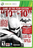 Batman Arkham City Game Of The Year Edition Xbox360
