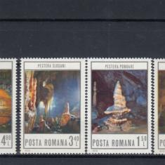ROMANIA 1978 LP 963  PESTERI  DIN ROMANIA   SERIE   MNH