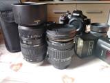 Echipament foto ieftin. D3300 + Grip, Nikon