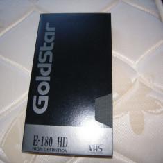 Caseta video VHS Goldstar E-180