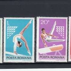 ROMANIA  1977 LP 943  SPORT  SERIE    MNH
