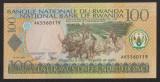 Bancnota Rwanda 100 Franci 2003 - P29b NC