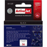 Cartus ActiveJet compatibil AC-HP-56XL pentru C6656 Negru