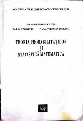 Teoria probabilitatilor si statistica matematica foto