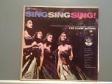 THE CLARK SISTERS – SING SING SING (1958/RGE/BRAZIL) - VINIL/Analog/Rar, decca classics