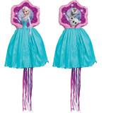 Pinata Disney Frozen cu sfori - Elsa si Olaf, fata-verso, Amscan 9903157, 1 buc
