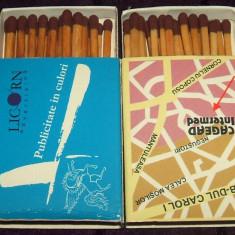 LICORN Advertising & CAGEAD Intermed - cutii chibrituri publicitare romanesti