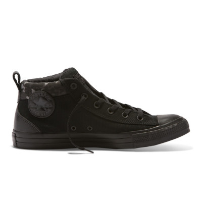 Shoes Converse Chuck Taylor All Star Street Black/Almost Black/Black foto