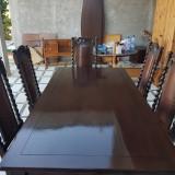Masa 6 scaune masiv