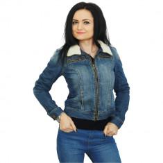 Jacheta Jeans de dama O Bleu