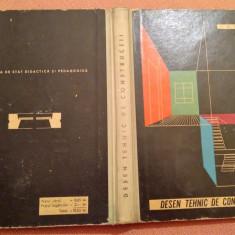 Desen Tehnic De Constructii - N. Tautu, 1962