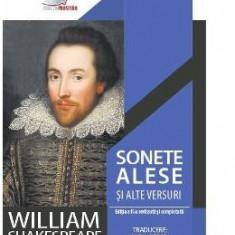 Sonete alese si alte versuri - William Shakespeare