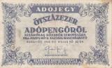 Bancnota Ungaria 500.000 (Ötszazezer) Adópengö 1946 - P139 VF+