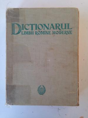 Dictionarul limbii romane moderne/D. Macrea/1958 foto
