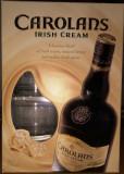 Carolans Irish Whisky Cream pachet cu doua pahare