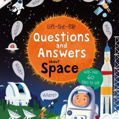 Lift-the-flap questions and answers about Space - Carte Usborne (5+)