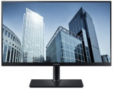 Monitor PLS LED Samsung 23.8inch LS24H850QFUXEN, QHD (2560 x 1440), HDMI, DisplayPort, Pivot, 5 ms (Negru)