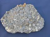 Specimen minerale - BLENDA PE CUART SI SEMSEIT (BB1, Naturala