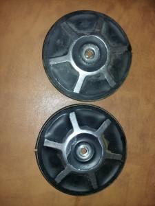 Capace roti vechi cu garnitura masina epoca,Dacia 1300 si Renault 12,T.GRATUIT