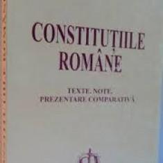 Ioan muraru constitutiile romaniei 2000