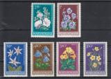 ROMANIA 1979  LP 977  FLORI  PROTEJATE IN R.S. ROMANIA  SERIE MNH